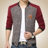 เสื้อคลุมผู้ชายแขนยาว เสื้อแจ็คเก็ต แบบเสื้อสูท แขนยาว ดีไซน์ แฟชั่น ยุโรป ใส่เที่ยว ใส่ออกงาน แบบ เท่ ๆ ไฮโซ 492029
