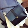 กระเป๋าสะพายข้าง ผู้หญิง ทรงแบน กระเป๋าหนัง pu ทรงจดหมาย ดีไซน์ ทูโทน 2 สี เรียบหรู มีสไตล์ กระเป๋าวัยรุ่น ชิค ๆ 350308