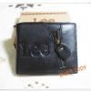 กระเป๋าสตางค์ผู้ชายหนังแท้ Lee สีดำ หน้าแต่งซิป lb001