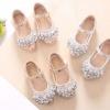รองเท้าเด็กผู้หญิง รองเท้าคัทชู แต่งคริสตรัล สำหรับ เด็กเล็ก เด็กโต รองเท้าใส่ออกงาน สำหรับเด็ก แบบสวย ๆ 693590