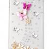 เคส iphone 6 Plus ขนาด 5.5 นิ้ว ติด เพชร เคส Diy ติดคริสตัล ธีม ผีเสื้อ ใน สวนดอกไม้ 3 มิติ เคสไฮโซ ดีไซน์ เก๋ ดูดี มีระดับ 476773