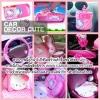 ( ลด 10 % ) HELLO KITTY - SET 12 : Hello kitty pink pettern