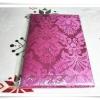 ผ้าแพร 5 ฟุต สีชมพูบานเย็น P105