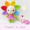 """ตุ๊กตาถัก ดอกไม้แสนสวย 5"""""""