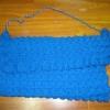 กระเป๋าสะพายสีฟ้า