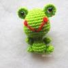 พวงกุญแจแมวเคโระถัก kero amigurumi crochet keychain