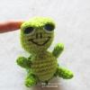 ตุ๊กตาเต่าแซมมี่ถักโครเชต์ ขนาด 4 นิ้ว turtle sammy amigurumi crochet doll