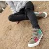 รองเท้าผ้าใบ ผู้หญิง รองเท้าหุ้มส้น แบบวัยรุ่น รองเท้าหุ้มข้อ สไตล์วินเทจ สุดคลาสสิค รองเท้าวินเทจ แบบสวย สีเทา เขียว ดีไซน์เก๋ 552511_2