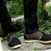 รองเท้าผ้าใบ ผู้ชาย รองเท้าใส่เที่ยว รองเท้าหุ้มส้น ผ้าแคนวาส หรือ ผ้ายีนส์ สีดำ สียอดนิยม สกปรกยาก รองเท้าผ้าใบเท่ ๆ ใส่สบาย 517968_2