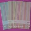 CG010 การ์ดแต่งงานแนวตั้ง พับ พิมพ์ด้านหน้า-ใน (มี 3 สีให้เลือก)
