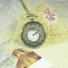 นาฬิกาพก,นาฬิกาสร้อยคอโบราณฉลุลายดอกไม้