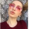 แว่นตากันแดด แว่นตาแฟชั่น แว่นผู้หญิง กรอบแว่น รูปหัวใจ เก๋ ๆ เปรี้ยว แว่นตา ใส่เที่ยว สีสันสดใส ชมพู ฟ้า ดำ เทา หลายเฉด หลายสไตล์ 373165