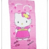 ผ้าขนหนู Kitty ตัวใหญ่ สีชมพู 5 ฟุต ผ้าเช็ดตัว ลายการ์ตูน ยอดนิยม แมว สีชมพู ผืนใหญ่ 60 นิ้ว ผ้าเช็ดตัว คิตตี้ ผืนใหญ่