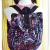 กระเป๋าสะพายหลัง กระเป๋าเป้ ขนาดกลาง แบบวัยรุ่น ราคาถูก กระเป๋าวัยรุ่น ใส่ของกระจุกกระจิก สะพายเที่ยว แบบน่ารัก ๆ ลายอาทร์ KP307