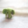ช้างถักตัวกลมขนาด 3*3 นิ้ว