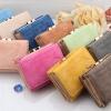 กระเป๋าสตางค์ผู้หญิง ใบสั้น กระเป๋าสตางค์ หนังนิ่ม มีหลายพับ ดีไซน์น่ารัก ใส่บัตรได้เยอะ มีหลายสี โลโก้ ร่มญี่ปุ่น กระเป๋าสตางค์ แบบเก๋ ๆ 966570