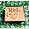กระเป๋าสตางค์ผู้ชาย boss หนังกลับ สีน้ำตาล มีช่องใส่บัตร ช่องใส่รูป และ ช่องซิปด้านใน b10023