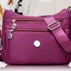กระเป๋าสะพายข้างผู้หญิง กระเป๋าถือ ผ้าไนลอน ขนาดกลาง รุ่นนิยม กระเป๋าไนลอน แบบเงา สะพายข้าง 361010