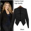 เสื้อสูทผู้หญิง แบบ แฟชั่น แคตวอร์ค แฟชั่น ยุโรป เสื้อ Jacket เสื้อคลุมผู้หญิง แขนยาว แบบมีดีไซน์ สีดำ ดีไซน์ เล่น ระดับ แบบสวย เก๋ 740546