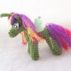 ม้าโพนี่ถัก pony amigurumi crochet