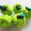 น้อยหน่าถักโครเชต์ custard apple fruit crochet
