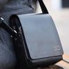 กระเป๋าสะพายข้างผู้ชาย กระเป๋าหนังแท้ แบบมีสายสะพายข้าง ขนาดกระทัดรัด ใส่ แท็บเล็ต ได้ 19 x 21 x 7 cm สีดำ และ สีน้ำตาล no 25291_2