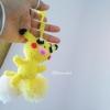 ที่ห้อยกระเป๋า พวงกุญแจตุ๊กตาโปเกม่อน dolls pom pom amigurumi crochet keychain