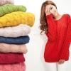 เสื้อกันหนาว เสื้อคลุม เสื้อไหมพรมถัก แบบ นิตติ้ง เสื้อไหมพรม แบบ สวย แฟชั่น วัยรุ่น สีพื้น สีชมพู ครีม แดง เหลือง เสื้อคลุมใส่ใน ห้องแอร์ ห้องเรียน เก๋ ๆ 912420