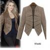 เสื้อสูทผู้หญิง แบบ แฟชั่น แคตวอร์ค แฟชั่น ยุโรป เสื้อ Jacket สีน้ำตาล กากี เสื้อคลุมผู้หญิง แขนยาว แบบมีดีไซน์ สวย มีสไตล์ 740546_1
