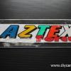 สติ๊กเกอร์สะท้อนแสงติดรถ AZTEX FORCE