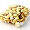 หมุดรองก้นกระเป๋า กรวยตัดใหญ่ สีทอง (แพ็คละ 100 ชิ้น)
