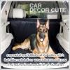 DOG Seat Protector - เบาะรองกันเปื้อนบนรถยนต์สำหรับสุนัข (สำหรับหลังรถแวน รถบ้าน)