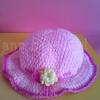 หมวกชมพูหวาน