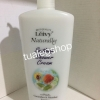 leivy cooling shower cream-สูตรเมลทอล peach&cucumber