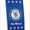 ผ้าเช็ดตัว Chelsea ผ้าขนหนู ผืนใหญ่ ตราวงกลมตรง สีน้ำเงิน 5 ฟุต เนื้อนุ่ม นาโน c012