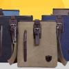 กระเป๋าสะพายข้าง ผู้ชาย ดีไซน์ แฟชั่น จากยุโรป กระเป๋าสะพายเฉียง ผ้าแคนวาส กระเป๋าสะพายข้างทรงตั้ง ใส่ของได้เยอะ แบบสวย ราคาถูก 315840