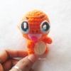 ฮิโตะคาเงะ โปเกม่อน ถักโครเชต์ Hitokage amigurumi crochet