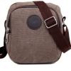 กระเป๋าสะพายข้าง ผ้าแคนวาส ขนาดเล็ก แนว เรโทร แบบเท่ ๆ กระเป๋าใส่ของ กระจุกกระจิก ท่องเที่ยว มี 2 ช่อง ขนาดทะมัดทะแมง 865974