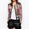 เสื้อคลุม เสื้อ Jacket ผู้หญิง แบบผู้ใหญ่ สไตล์ คุณนาย เสื้อคลุม งานปัก ลายดอกไม้ ดีไซน์ สวยหรู แฟชั่น ยุโรป วินเทจ สุด ๆ 762877