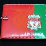 กระเป๋าสตางค์ ลายทีมฟุตบอล Liverpool หนัง pu อย่างดี กันน้ำได้ ลาย 3 มิติ ตัวนูน สีแดง สวยเท่ ของขวัญให้แฟน สุดหรู 87250