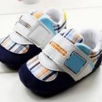 รองเท้าผ้าใบ เด็กเล็ก เด็กผู้ชาย เด็กผู้หญิง รองเท้าเด็ก ลายสก๊อต สีฟ้าอ่อน สดใส น่ารัก รองเท้าเด็ก คุณหนู ไฮโซ ใส่แล้วดูดี น่ารักสุด ๆ 14301_6