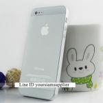 ซื้อ 1 แถม 1 Case ใส่ Iphone 5 5s แบบใส สีขาว