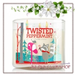Bath & Body Works Slatkin & Co / Candle 14.5 oz. (Twisted Peppermint)