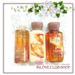 Bath & Body Works / Travel Size Body Care Bundle (Cashmere Glow)