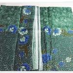 ผ้าถุงสำเร็จรูป ลายไทย สีเขียว P011