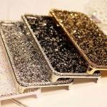เคส iphone 6 Plus ขนาด 5.5 นิ้ว เคสคริสตัล Rhinestone เคสหรู ระยิบระยับ เคส 3 D อย่างหรู สีทอง สีขาว สีเงิน สีดำ 4763761