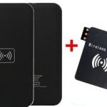 ที่ชาร์จโทรศัพท์แบบ wireless Qi Wireless Charger Receiver Adapter Set สำหรับ Samsung Galaxy Note 3 อุปกรณ์ครบชุด no 9442517