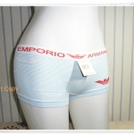 กางเกงในผู้หญิง สีขาว ขอบแดง K010