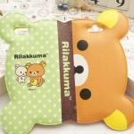 เคส iphone 6 6 plus เคสลายการ์ตูนดัง รีแลคคุมะ จากญี่ปุ่น รูปหน้า พับครึ่งได้ กางออกเป็นหน้าเต็ม หนัง pu กันน้ำ สีเขียว น้ำตาล 108123_5