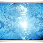 ผ้าห่มแพร สีฟ้าอ่อน 5 ฟุต